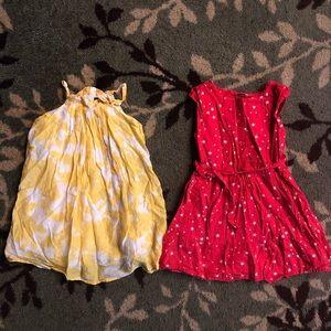 Baby gap Size 5 toddler dresses